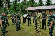 Panglima TNI Tinjau Latihan Pasukan Khusus TNI Penanggulangan Terorisme di Anambas