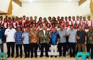 Bupati Soekirman Ramah Tamah dengan Tim Paskibraka Sergai 2017