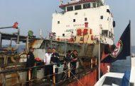 Bakamla RI Periksa Kapal Tanker Berlayar Tanpa SPB