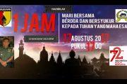 Doa Bersama 171717 Peringati HUT RI ke 72, diGelar Kodim 0825 Banyuwangi