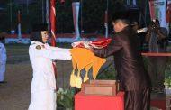 Penurunan Bendera Merah Putih Memperingati HUT RI ke-72 Kota Sorong
