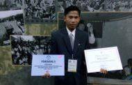 Haerun dari  SLBN 1 Wajo Raih Penghargaan Guru Berprestasi Tingkat Nasional