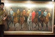 Lukisan 7 Presiden, Sam Aliano Beri Nama Indonesia Bersatu