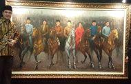 Sam Aliano Beri Nama Lukisan Indonesia Bersatu