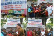 DANDIM 0825 Banyuwangi Dan Tim Satgas Stabilitas Harga Sembako, Gelar Pasar Murah