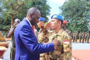 200 Prajurit TNI di Afrika Terima Medali CAR