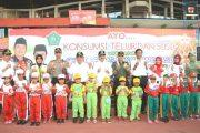 Peringari Hari Anak Nasional,Kampanye Imunisasi Campak Dan Rubella