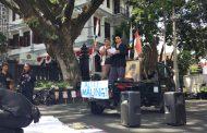Dukung Langkah KPK, AMATI Gelar Aksi Damai di Balaikota Malang
