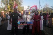 Ribuan Warga Saksikan Karnaval HUT ke-72 Kemerdekaan RI di Kecamatan Dasuk