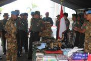 Pasukan Garuda Apel Gelar Kesiapan Personel dan Perlengkapan di PMPP TNI