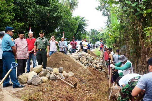 Waaster Panglima TNI Tinjau Lokasi Sasaran Fisik