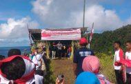 Ormas Pemuda Pancasila Halbar Rayakan HUT RI Ke 72 Dipuncak Sosota