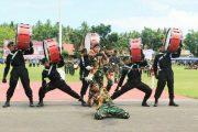 Marching Band 732 Banau Meriahkan HUT RI ke 72