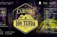 Nikmati Pesona Alam Gayo Melalui Camping 100 Tenda