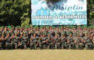 Kasdam XII/Tpr Minta Prajurit Yonif 131/Brs Pertanggungjawabkan Keberhasilan