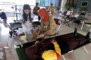 Peringati HUT Paramuka ke 56, Pramuka Halbar Gelar Donor Darah