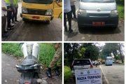 Razia Terpadu , Kendaraan Mobil Dinas Pemkab Sergai di Tilang