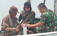 Bakti Sosial TNI Di Taman Wisata Pulau Tunda Serang