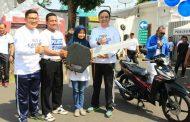 Gerak Jalan Puncaki HUT Lantas Ke-62 Polrestabes Surabaya
