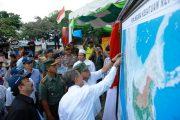 Gubernur Aceh Launching Peta NKRI di Titik O Kilometer