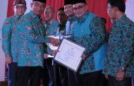 Pemkab Kabupaten Probolinggo Raih Penghargaan Anugerah Aksara Utama