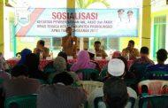 Disnaker Sosialisasikan Penempatan Tenaga Kerja
