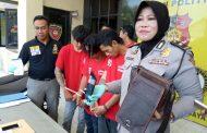 Polisi Surabaya Bekuk Tiga Bandit Motor Dengan Modus Tanya Alamat