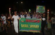 TPA di Pampang Makassar  Gelar Pawai Obor Keliling