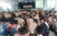 Cegah Faham komunisme di Tingkat Pelajar, Koramil Dan SMKN 1 Glagah Nobar Film Dokumenter G30S/PKI