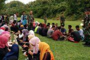 Ratusan Mahasiswa Baru Fisip Umuslim, Ikuti OutBound Di-Batalyon 113