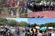 Demo Pilkada di Istana Gubernur Kalteng Ricuh