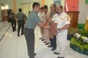 Keluarga Besar TNI Dikumpulkan di Makorem 084/BJ