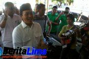 RBT kembalikan Formulir ke Partai Gerindra, Di Iringi Lagu Berbaur