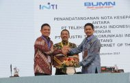 Telkom dan PT INTI Bersinergi Garap Layanan  Internet of Things Devices