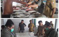 BPOM Sidak ke Pasar Ikan Tanjung Wagom Fakfak
