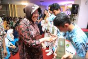 Wali Kota Surabaya Tularkan Semangat Kepada Pelajar SMP se-Surabaya