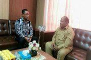 Walikota Sorong Sambut Kedatangan Bupati MTB