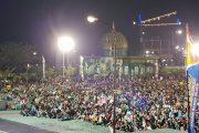 6000 lebih masyarakat menduduki markas Kodam Tanjungpura