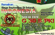 Korem Ajak Masyarakat Malut  Nobar  Film G 30 S/PKI
