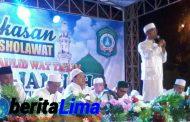 Wakil Bupati Pamekasan Bersholawat Di Malam Tahun Baru Islam 1439 Hijriah