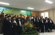 65 Advokat Peradin Banten Ikuti Prosesi Penyumpahan Oleh KPT