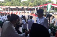 Laksma TNI Suradi Hadiri Apel Peringatan Hari Santri 2017