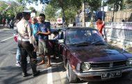 Razia Gabungan, Puluhan Kendaraan Terjaring