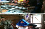 Bhabinkamtibmas Kampung Tanjung Batu Sambangi Rumah Warga Sakit Lumpuh