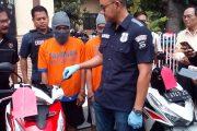 Polisi,Bekuk Spesialis Pencurian Sepeda Motor Beat