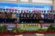 STIAMAK Mewisuda 114 S1, Tahun Depan Buka Prodi Logistik
