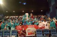 Biskuit Kokola Halal dan HMC Hibur Ratusan Anak Yatim