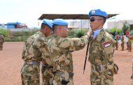 200 Prajurit TNI Misi PBB di Afrika Tengah Peringati HUT Ke-72 TNI