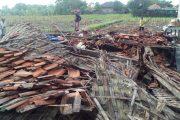 """Angin Puting Beliung Di Pamekasan """"Mengamuk"""" Dua Puluh Rumah Di Empat Desa Rusak"""