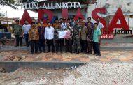 Penyerahan Bank Jatim Peduli Cabang Kangean Kepada Pemerintah Kecamatan Arjasa
